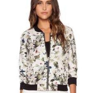 Sanctuary Floral Bomber Jacket Small